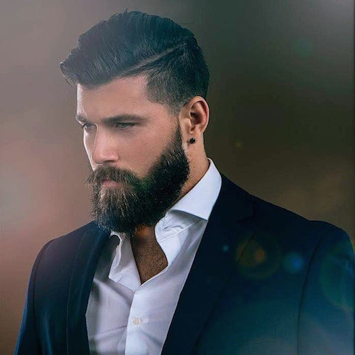 22 Cool Beards And Hairstyles For M