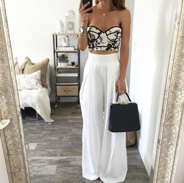 High-waisted trousers are now back! | Fashion, Summer fashion .