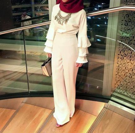 Dress graduation university hijab 43 ideas | Graduation outfit .