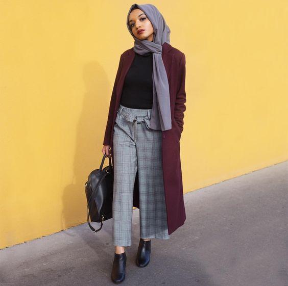 Stylish Hijab Work Wear Outfit Ideas - Hijab-style.c