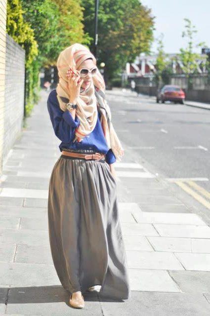 Hijab Outfits for Teenage Girls – 20 Cool Hijab Style Looks .