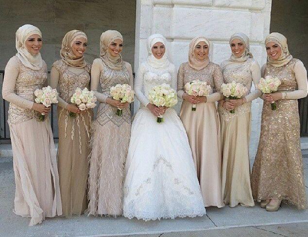 Pinned via Nuriyah O. Martinez   Hijab , wedding dress , modest .