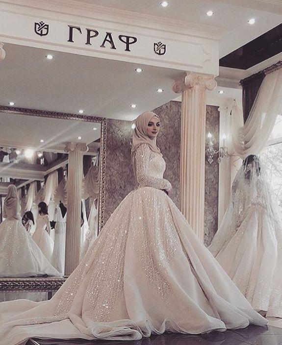 Chahsai_photo …   Muslim wedding gown, Muslim wedding dresses .