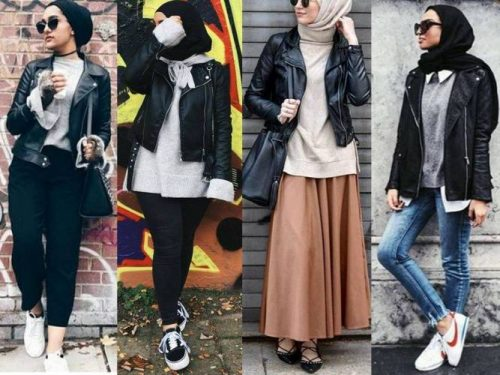 Winter Hijab fashion combinations | | Just Trendy Gir