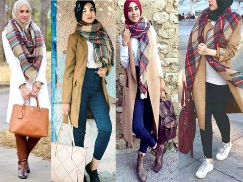 Winter Hijab fashion combinations | Fashion, Clothes for women .