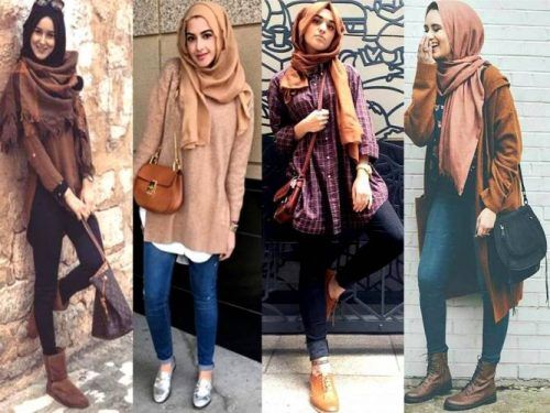 Winter Hijab fashion combinations | Hijab fashion, Trendy winter .
