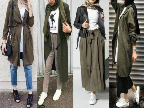 Winter Hijab fashion combinations | Hijab fashion, Casual hijab .