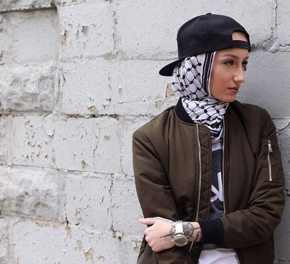 Funky Hijab Style-16 Cool Ideas to Wear Hijab for Funky Lo