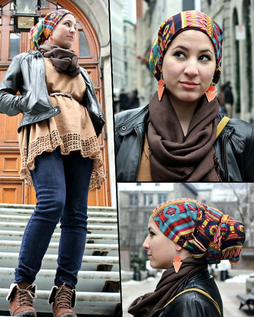 Hijab With Infinity scarf - Simple Ways to Wrap and Wear