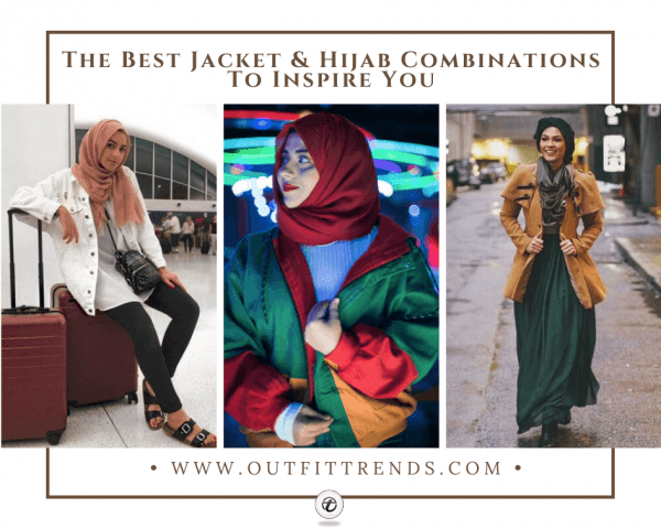12 Decent Ways To Wear Hijab With Jackets in 20