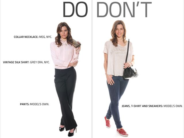 class project on what not to wear on a job interview | Interview .