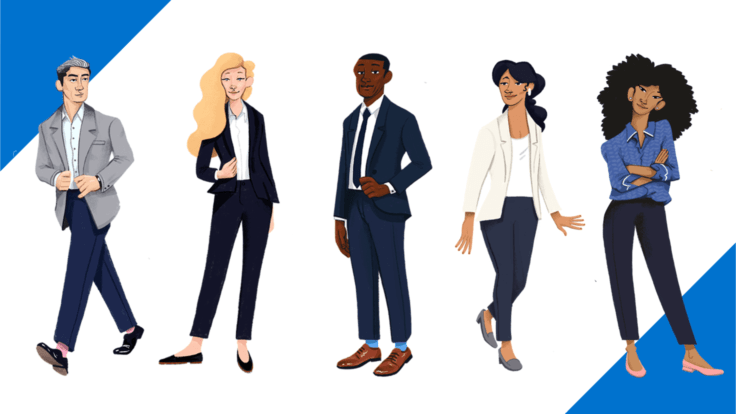 15+ Job-Winning Interview Outfits For Women & Men - Dress For Succes