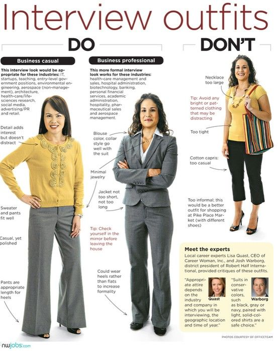 Pin by Bucknell Career on What to Wear for Women | Interview .