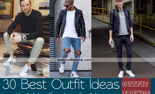 How to Style Adidas Superstar Men-18 Outfits with Adidas Sneakers .
