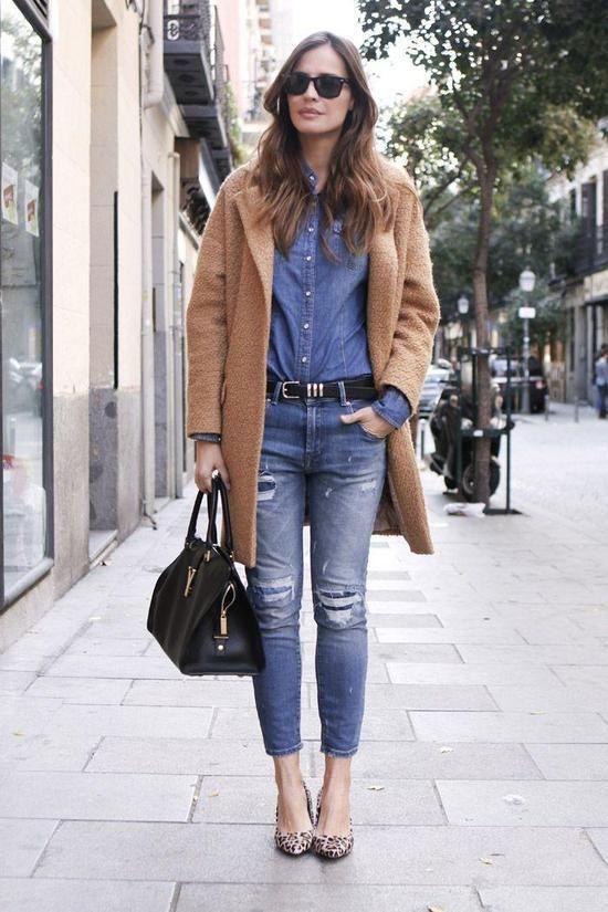30 Ideas to Wear Your Camel Coats - Pretty Desig