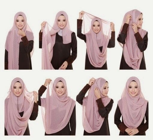 Beautiful chest coverage hijab   How to wear hijab, Hijab, Hijab .