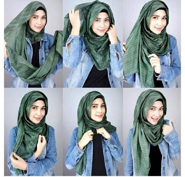 Latest Hijab Style Designs & Tutorial 2015 with Pictures   Hijab .