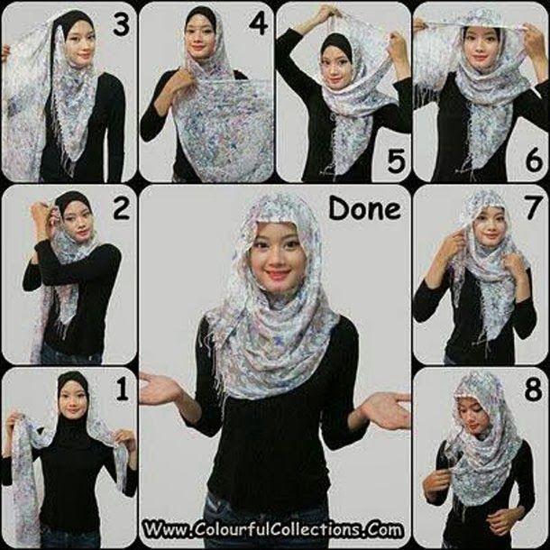 GoZiyan.Com: How to Wear a Hijab Fashionably [12 Tricks] | Hijab .