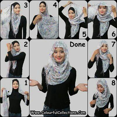 muslim ladies fashion styles Alhamdulillah. pretty love it .