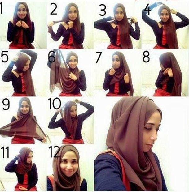 GoZiyan.Com: How to Wear a Hijab in Style [12 Tricks] | Hijab .
