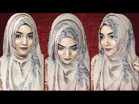 How i wear Hijab Without Inner Cap ||Hijab Style Without .