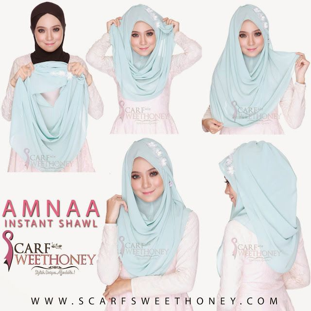 How To Wear Hijab Without an Under Scarf | Hijab tutorial, How to .