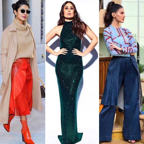 Winter outfit ideas inspired by Bollywood divas you will love .