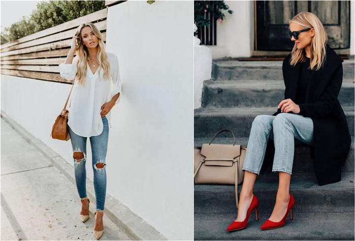28 Awesome Jeans Outfits with High Heels You Must Have - Fancy .
