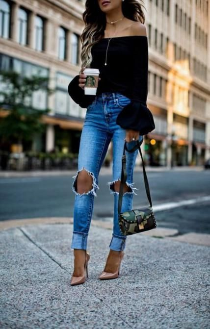 How To Wear Heels With Jeans Christian Louboutin 41+ Ideas .