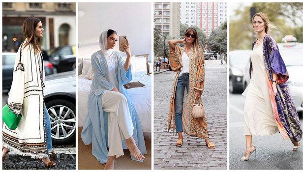 22 Stylish Ways to Wear Kimonos During Ramad