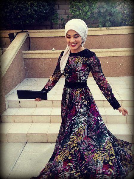 30 Latest Eid Hijab Styles With Eid Dresses-2020 Eid Fashion .