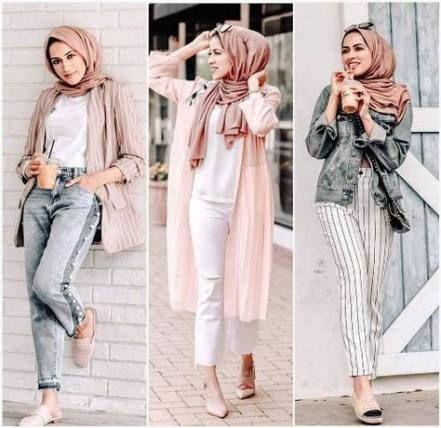 Clothes casual summer fashion ideas 32+ ideas | Hijab trends .