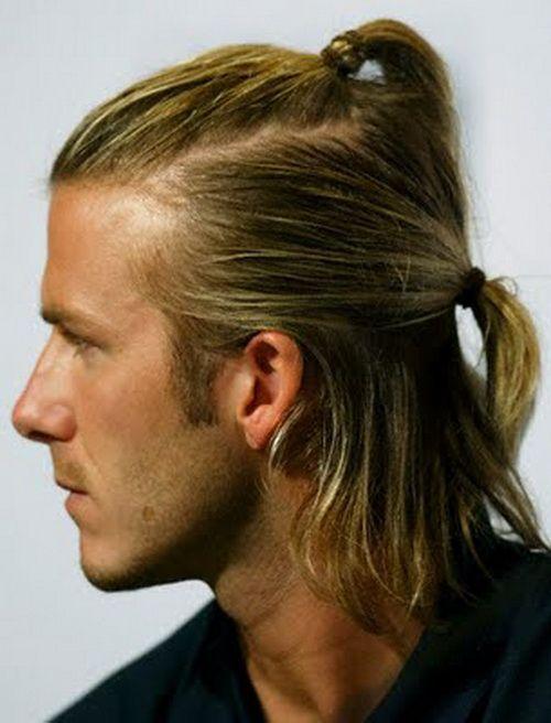 Pony Hair Styling Ideas(10) | David beckham hairstyle, Beckham .