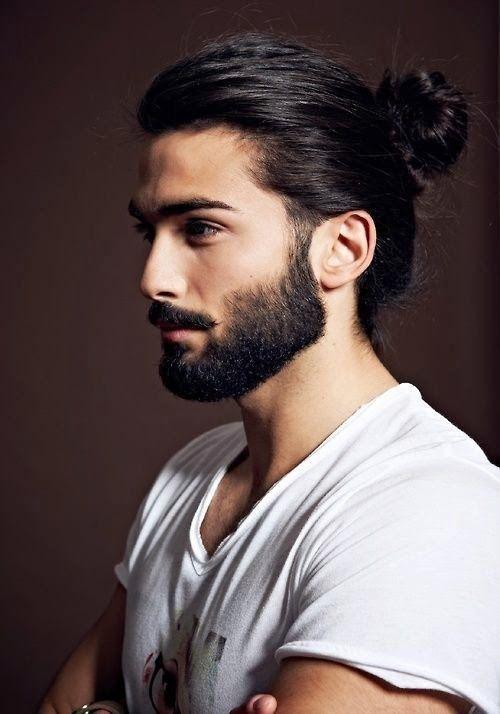 Pony Hair Styling Ideas(6) | Man bun hairstyles, Long hair styles .