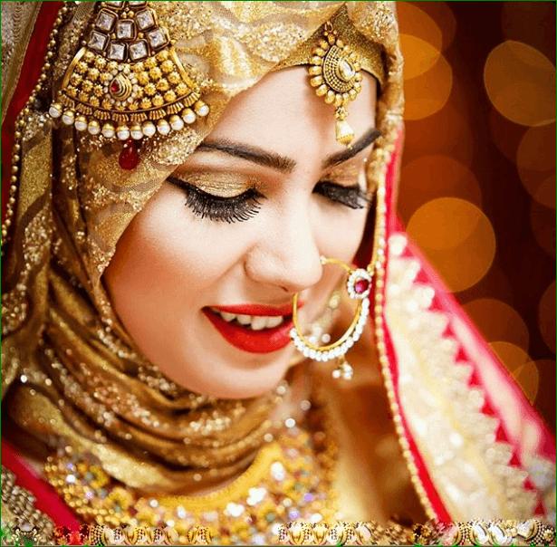 Maang Tikka With Hijab – 17 Ways To Wear Hijab With Maatha Patti .