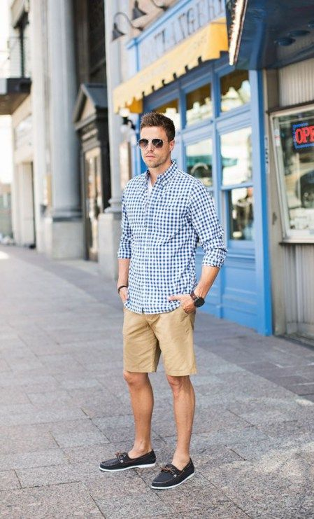 Simple and cool boat shoes outfit for mens 56 | Preppy mens .