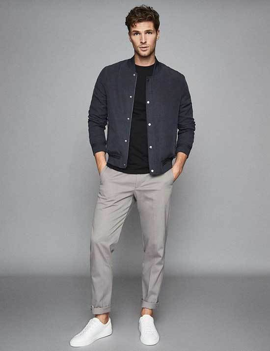 Classy to Sporty 35+ White Sneaker Outfits Men's - Outfit Styl