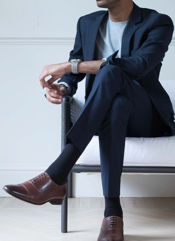How To Wear Oxford Shoes For Men | Oxford Shoe Outfits | Oxford .