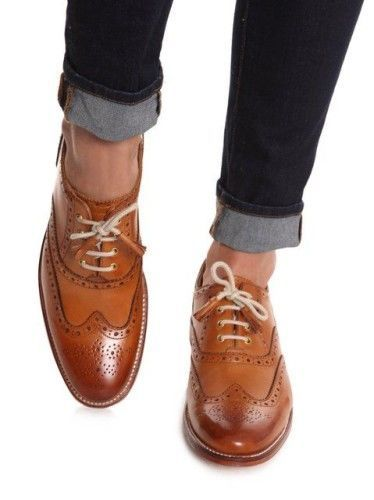 Men's Outfits To Wear with Oxford Shoes-27 New Tren