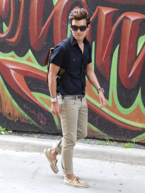 22 Stylish Men Outfits With Sperry Shoes - Styleohol