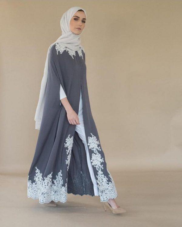 Open Abaya Designs - 20 Latest Open Abaya Styles You Can B