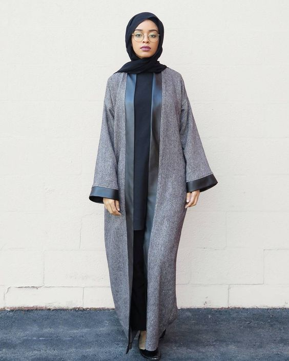 Latest Modern Style Abaya Designs Collection Pictures - HijabiWor