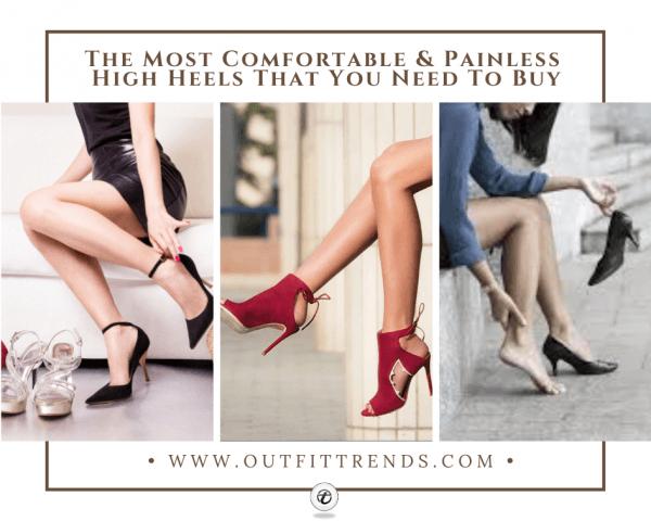 Most Comfortable Heels-The 7 Best High Heels in 20