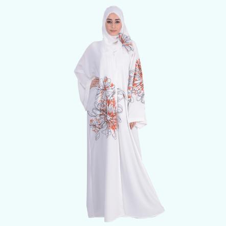 15 Most Popular Dubai Style embroidered Abayas | Abaya, Hijab .