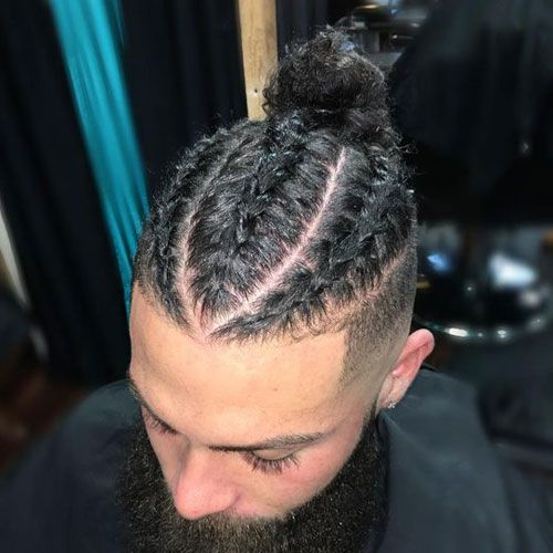 25 Cool Braids Hairstyles For Men (2020 Guide) | Mens braids .