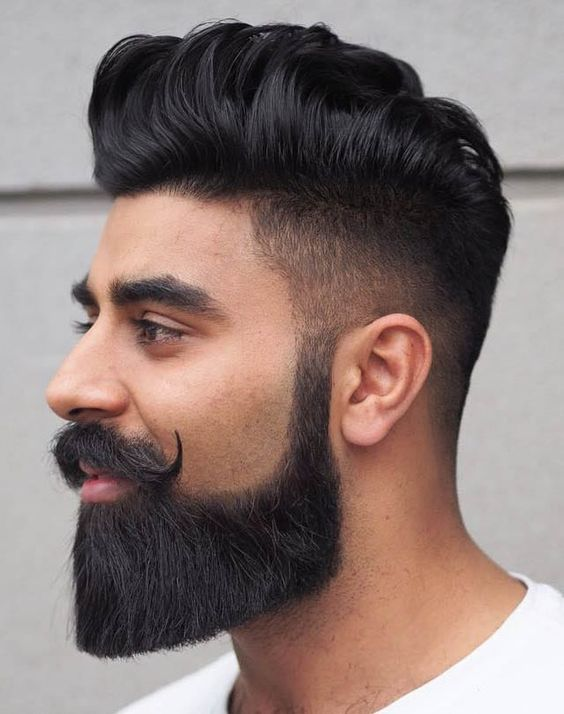 Indian hairstyle. in 2020 | Mens hairstyles, Hair and beard styles .