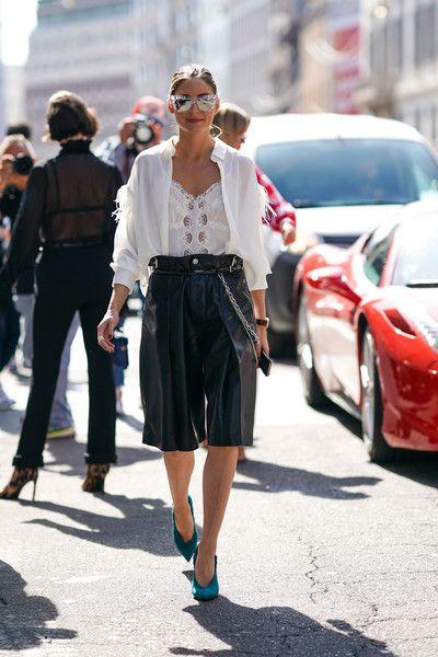 Olivia Palermo Photos Photos: Ermanno Scervino – Street Style .