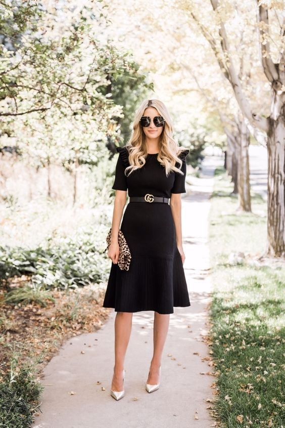 20 Outfit Ideas on How to Wear Little Black Dress in 2020 in 2020 .