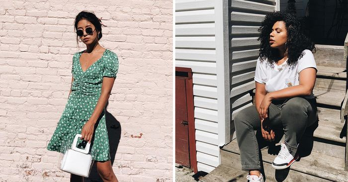 96 of the Chicest White Sneaker Outfits Ever | Who What We