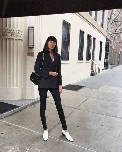 15 Winter Outfits With Black Jeans | Who What We